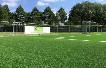 Edel Grass and Antea group realize the first non infill artificial turf pitch at football club ASC nieuwland in Amersfoort Holland