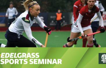 Edel Grass Sports Seminar on May 10th with Paul Revington at Surbiton HC