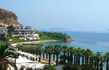 Edel Advantage Redcourt tennis and padel courts at the Turkish coast