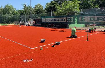 Custom made Edel Elite LSR tenniscourt