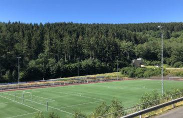 New soccer field for Sportplatz Niederschelden