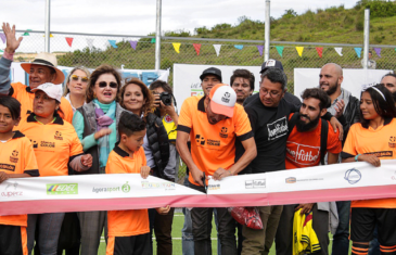 Grand opening of new soccer field for the people of Ciudadela Sucre – Soacha, Colombia