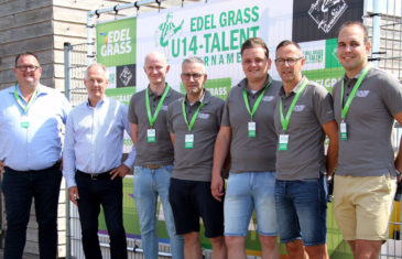 Renewal main sponsorship Edel Grass U14 Talent Tournament