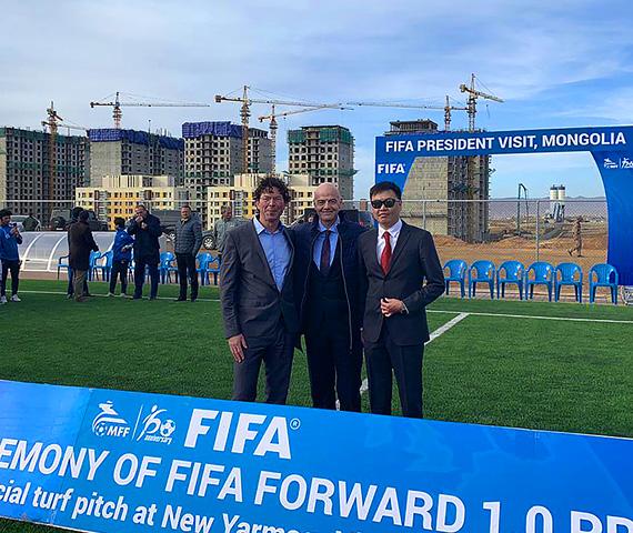 2019 Mongolia Yarmag Ulaanbataar Fifa Forward