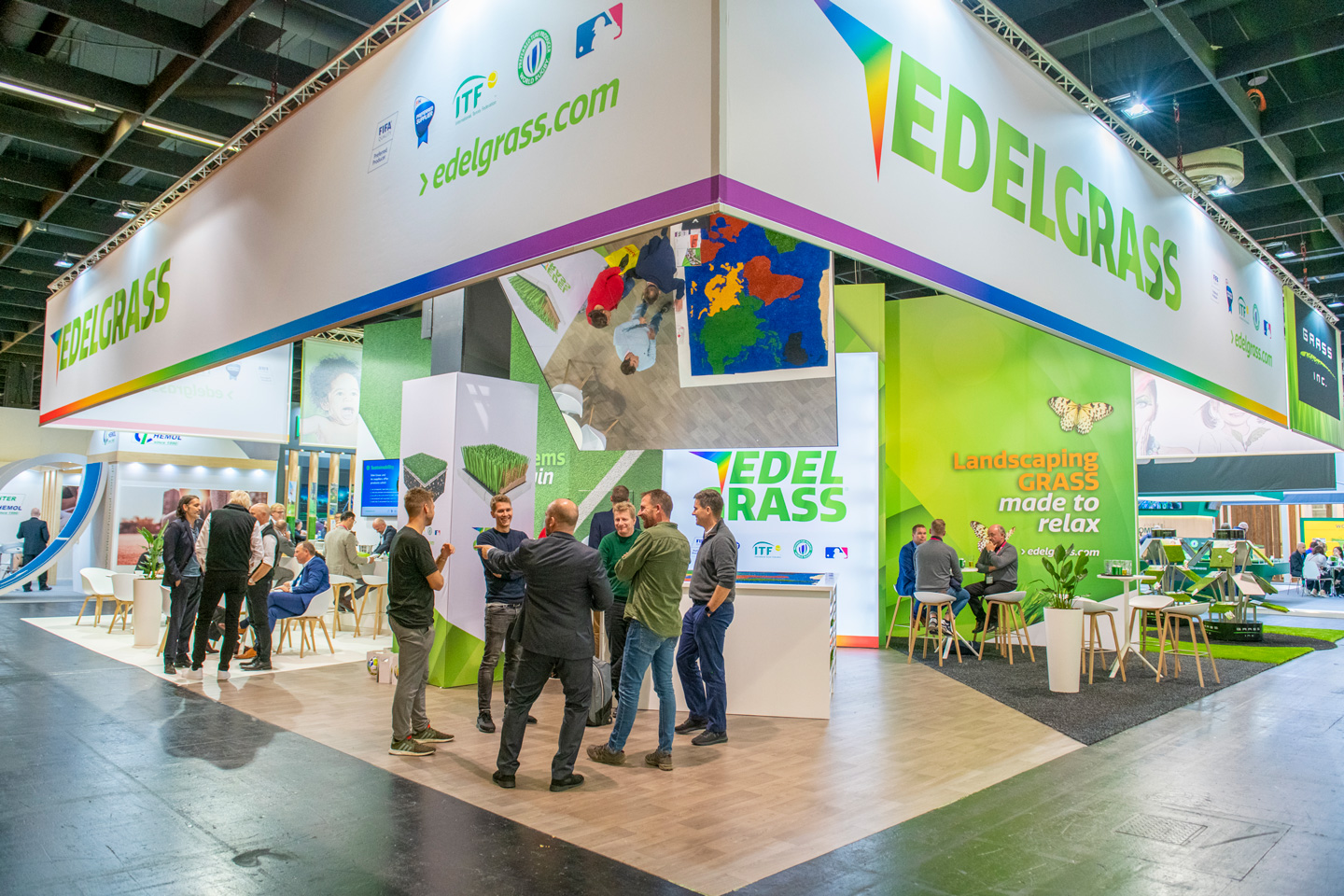 Edel Grass Booth at FSB 2019