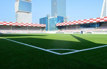 FIFA Quality Pro soccer field for Keshla FK in Baku, Azerbaijan