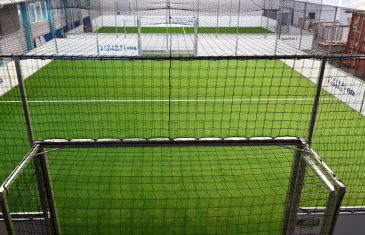 Two speed soccer courts for FIFA and Zürich