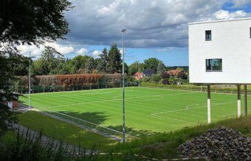 New Edel Novum pitch atUwe Seeler Fußball Park