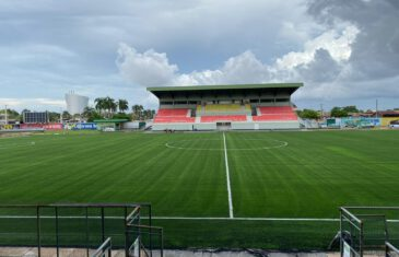 FIFA Quality Pro football field in Paramaribo, Suriname