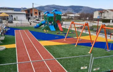 Local playing field in Metković, Croatia