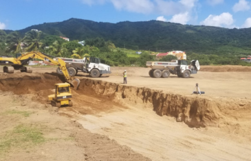 FIFA project in St. Kitts & Nevis under construction